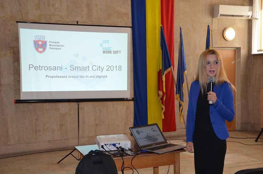 """Municipiul Petroșani va fi un """"smart-city"""""""