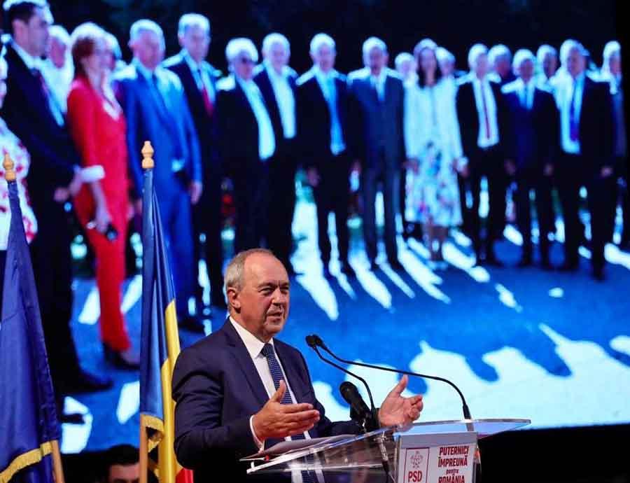 Deputatul PSD, Laurențiu Nistor, reales președinte al Organizației Județene Hunedoara