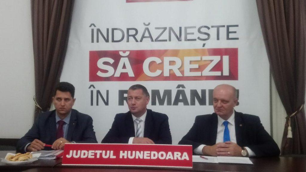 Cristian Resmeriță și Ilie Toma (senator și deputat PSD de Hunedoara), despre moțiunea de cenzură